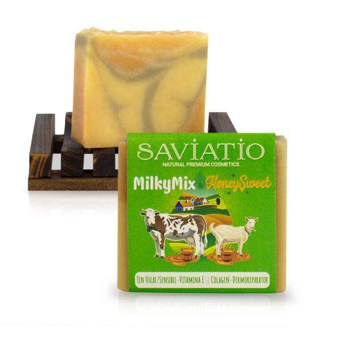 sapun pentru ten sensibil saviatio